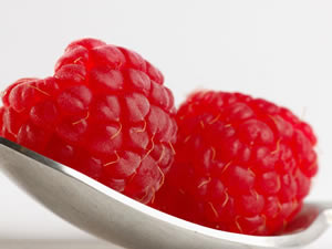 Natural Red Raspberries